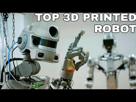 Top 10 3D Printed Robots  Humanoid Robots