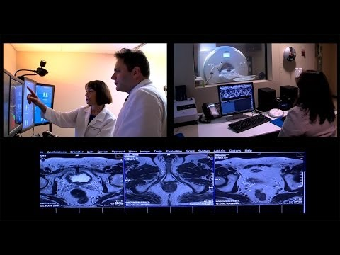 MRI for diagnosis and treatment of prostate cancer