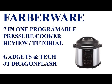 Farberware 7 in one Electric Pressure Cooker Review/Tutorial