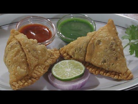 Chicken Samosa | Punjabi Samosa | How to make Chicken Keema | Qeema Samosa