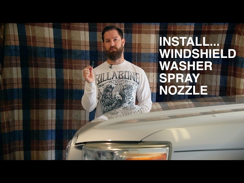 VideHow - Windshield Washer Spray Nozzle Replacement
