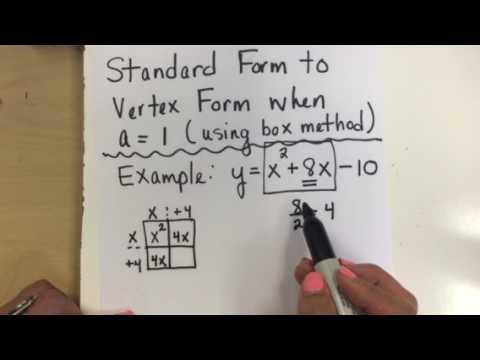 Standard to Vertex using box method