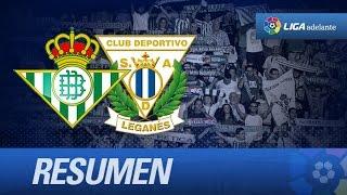 Resumen de Real Betis (1-3) CD Leganés