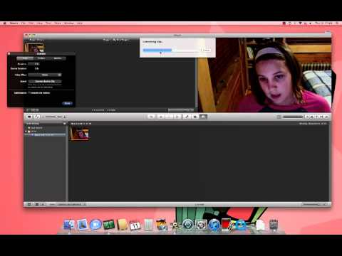 iMac Tutorial: How To Make A Slow And Fast Motion iMovie