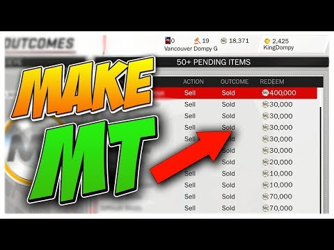 HOW TO MAKE TONS OF MT FAST AND FREE IN NBA2K18 MYTEAM!!! (MONEY GUIDE)