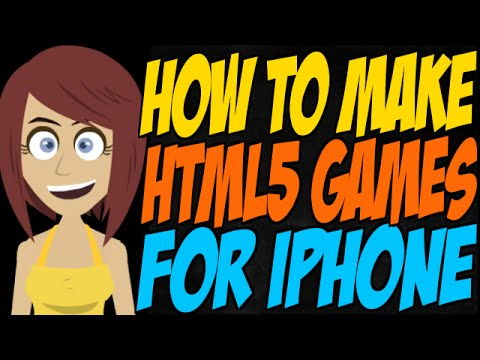 How to Make HTML5 Games for iPhone