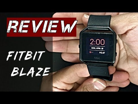 Fitbit Blaze- BIG [Review]