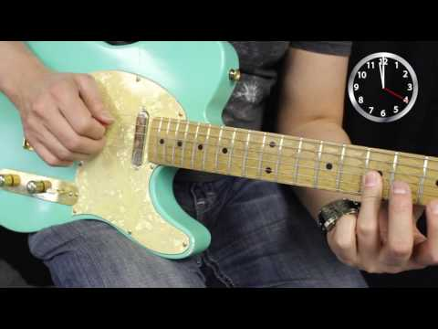 Learn how to play guitar with a pick and two fingers in one minute!