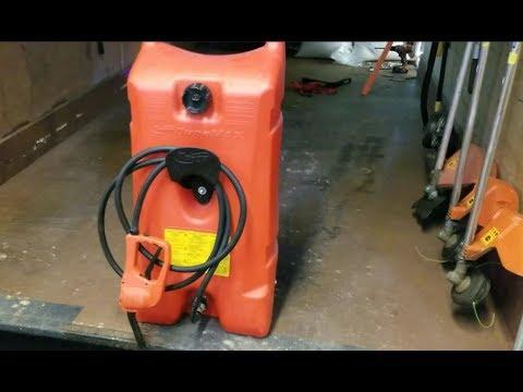 DLC - Enclosed Trailer Fuel Tank Install