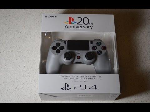 Распаковка юбилейного геймпада DualShock 4 20th Anniversary Edition (PS4)