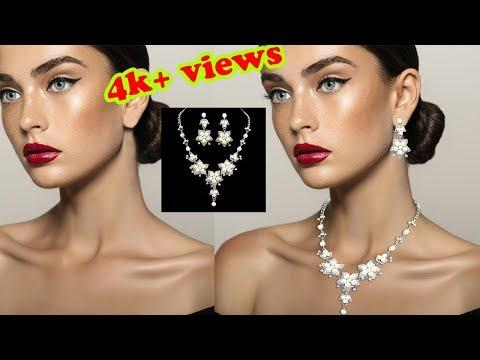 Jewelry photoshop editing || Add Jewelry Photoshop || Jewelry added to stock photos || Retouching