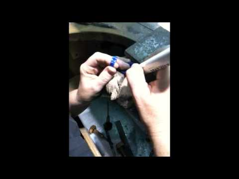 Wax Carving part 2 by www.DiamondGallerySD.com, we are custom design jewelry store in San Diego