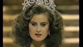Miss Canada 1983 - Karen Baldwin, final walk, Crowning Moment -