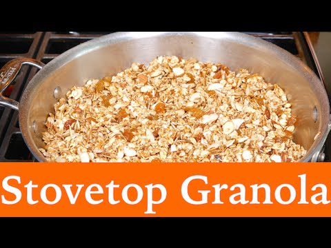 How to Make Granola - Stovetop Recipe