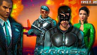 KRRISH || KRISHNA WITH SUPER POWERS || FREE FIRE SHORT FILM || RISHI GAMING