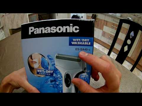 [ UNBOXING and REVIEW ] Panasonic ES-SA40s Wet/Dry Shaver Washable Machine