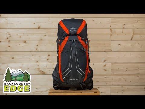 Osprey Exos 38  Internal Frame Backpack