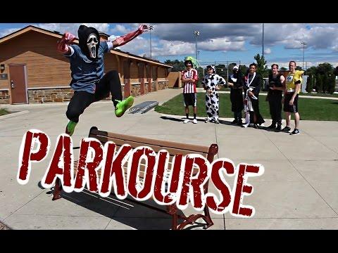 PARKOURSE: Costume Edition! (Episode 01, part 1/2)