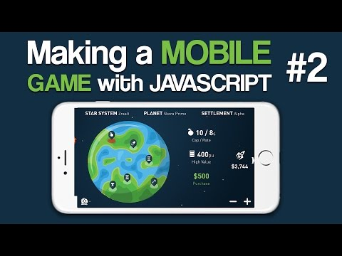 Making a Mobile Game with Javascript - 2: Creating PhoneGap Project