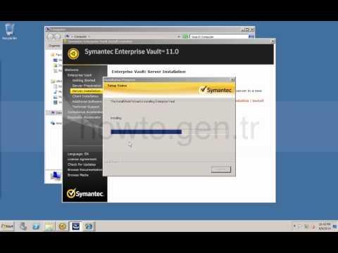 Symantec Enterprise Vault 11 Installation for Exchange