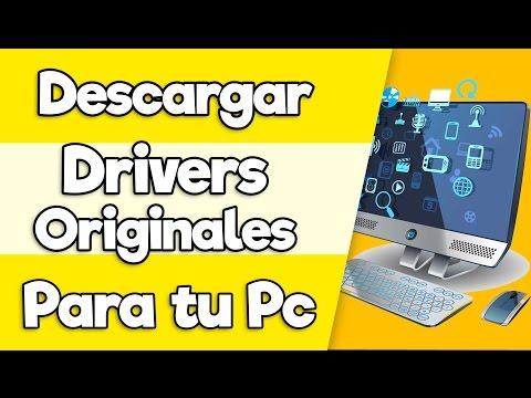 Como Descargar todos los Drivers Originales de Tu Pc | Sin Internet | 2016 [HD]