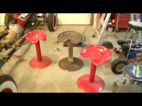 Building a Plow Seat Stool