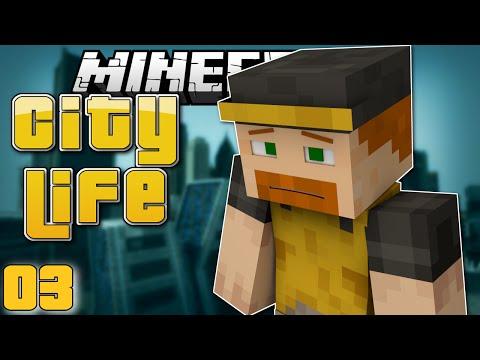 Minecraft: GET A JOB! - City Life #3 (Minecraft Roleplay)