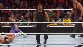 Roman Reigns makes a dominant Royal Rumble Match debut