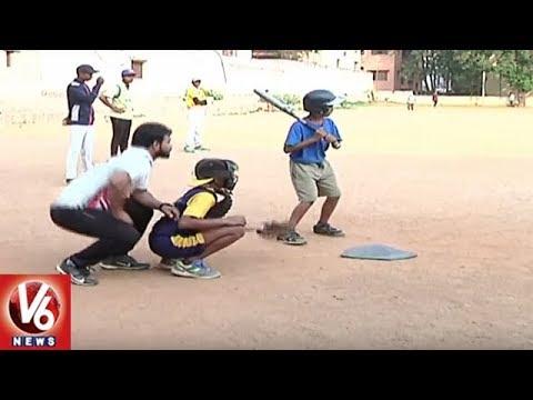 Telangana Baseball Association Promotes Game In Hyderabad, Urges Govt For Support | V6 News