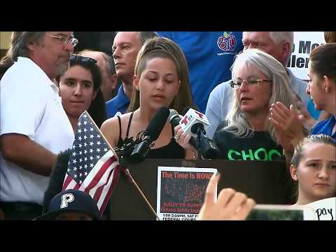 Emma Gonzalez to NRA and Donald Trump: