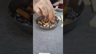 Sigara nasıl söndürülür ?