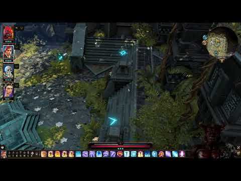 The Lunar Shrine Puzzle on The Nameless Island - Tactician - Divinity Original Sin 2 LP #89