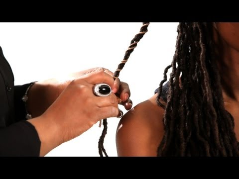 How to Wrap Dreads with String | Get Dreads
