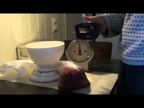 Homemade Red Current Wine Part 1 - Picking Berries - English Version
