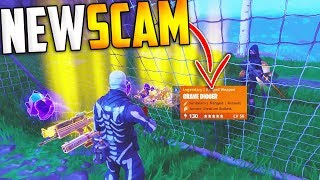 *NEW SCAM* The Soccer Goal Scam BEWARE! Scammer Gets Exposed In Fortnite Save The World