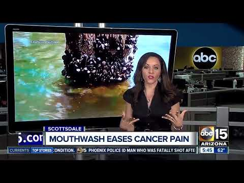 Scottsdale mouthwash makers help chemotherapy patients treat and eliminate painful mouth sores