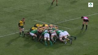 Irish Rugby TV: Ireland U-19s v Australia Schools & U-18s Highlights