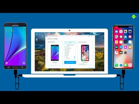 How to Transfer Data from Samsung Galaxy Note 5 to iPhone X ?