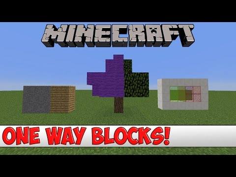 Minecraft Plugin Tutorial - One Way Blocks