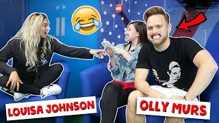 MOUTHGUARD CHALLENGE ft. Olly Murs & Louisa Johnson
