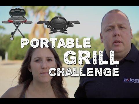 Portable Grill Challenge - Coleman Roadtrip v.s Weber Q1200