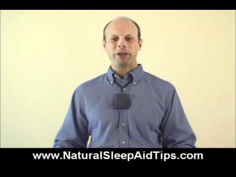 Natural Sleep Aid Tip:  Going To Bed Early