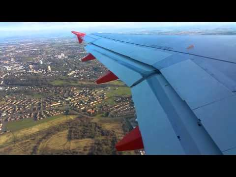 Easyjet Flight - Glasgow to Luton, 10th March 2016 - A319 G-EZED