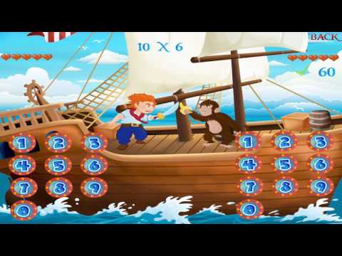 Times Tables Game for iPad - Learn Times Tables Pirate Swordfight