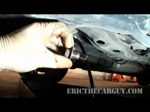How To Change Honda Automatic Transmission Fluid - EricTheCarGuy