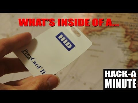 What's inside of a Prox (HID) card?