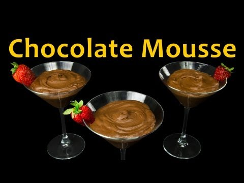 How to Make Chocolate Mousse by  Cookies Cupcakes and Cardio