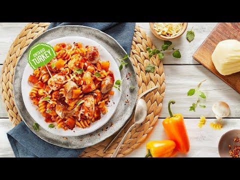 Slow Cooker Turkey Pasta