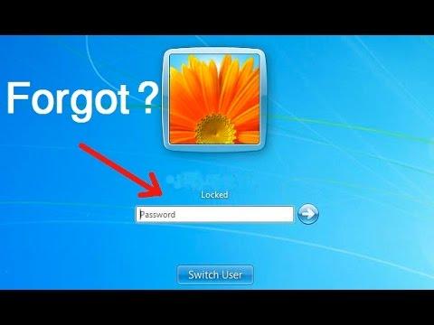 How to remove computer locked screen forgot password | របៀបដោះលេខកូដសុវត្ថិភាព PC ពេលអ្នកភ្លេច