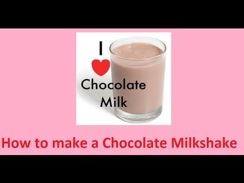 How to make a Nesquik Chocolate milk =3 ( I like to call it Milkshake)